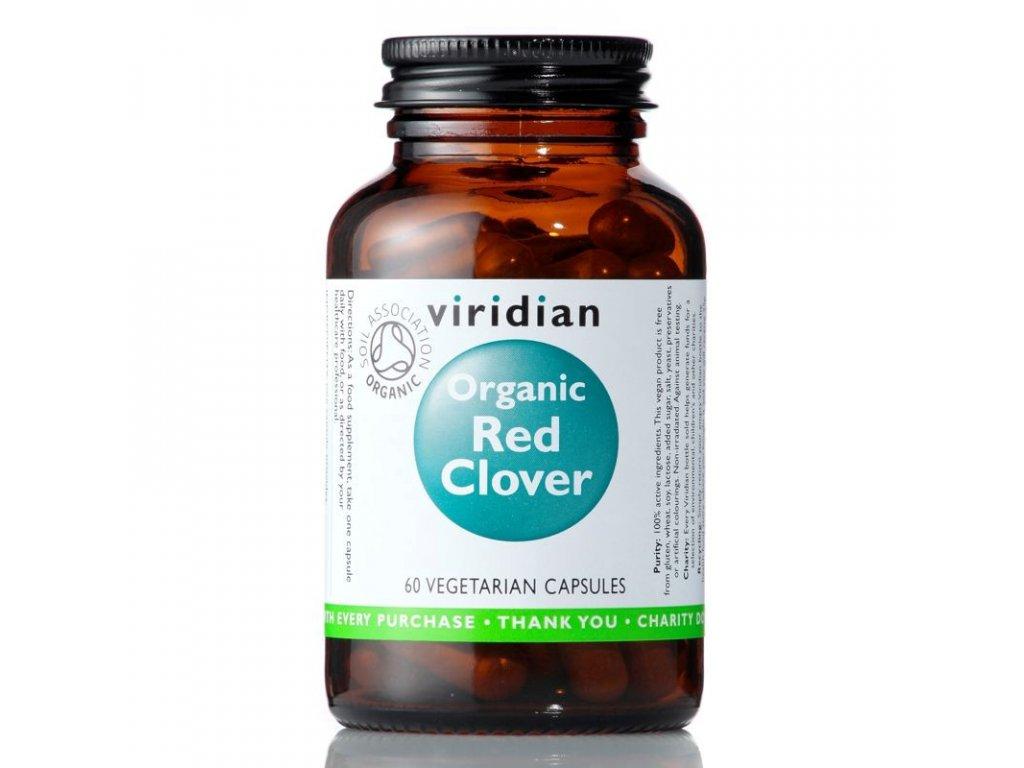 Red Clover 60 kapslí Organic