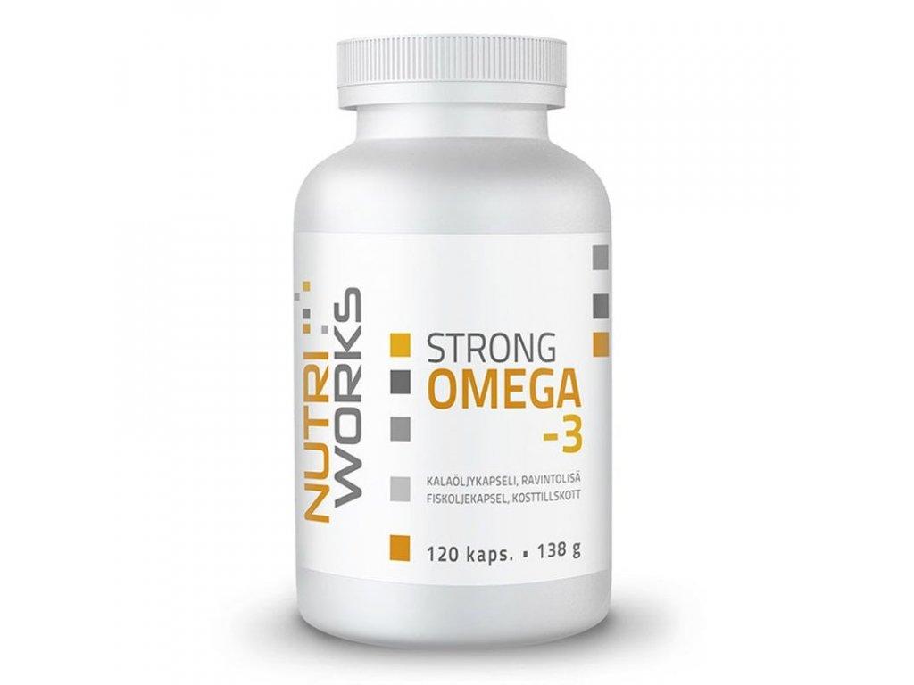 Omega 3 Strong 120 kapslí