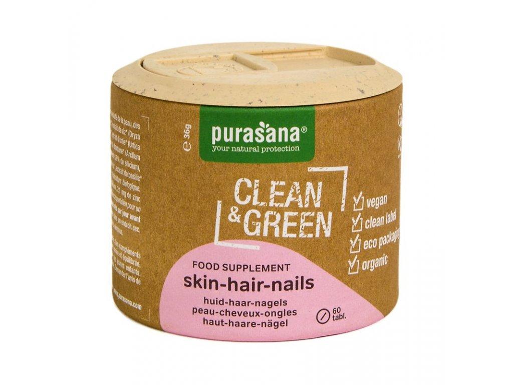 Skin Hair Nails BIO 60 tablet (Kůže-Vlasy-Nehty)