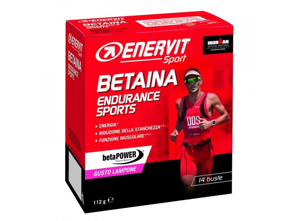 Betaina Endurance Sports 14 x 8g malina
