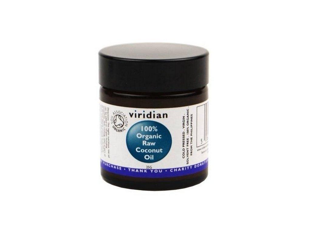 Viridian 100% Organický kokosový olej 25g