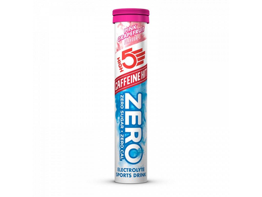 Zero Caffeine Hit 20 tablet New růžový grep