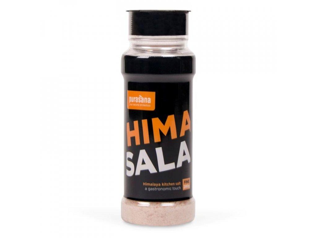 Himalájská sůl jemná 200g solnička