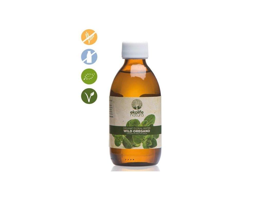 OrganicFloralWaterWildOregano250ml EkolifeNatura