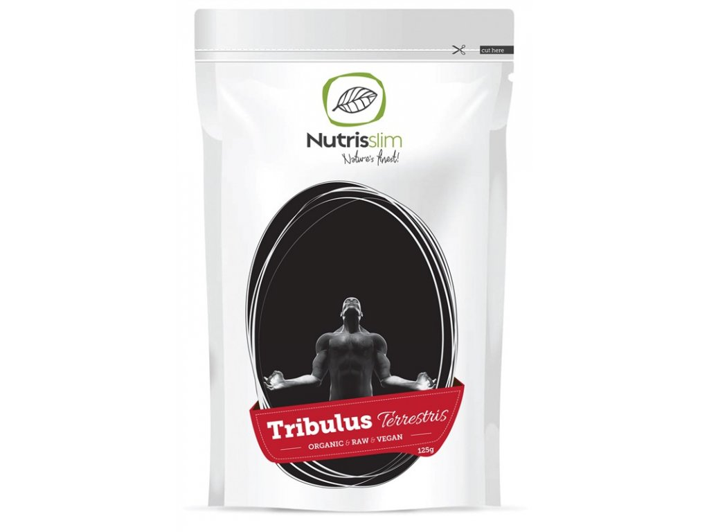 tribulus terrestris powder nutrisslim superfood organic vegan raw