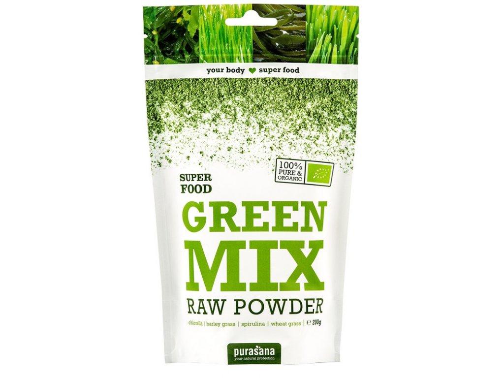 Purasana Green Mix Powder Bio 200 g