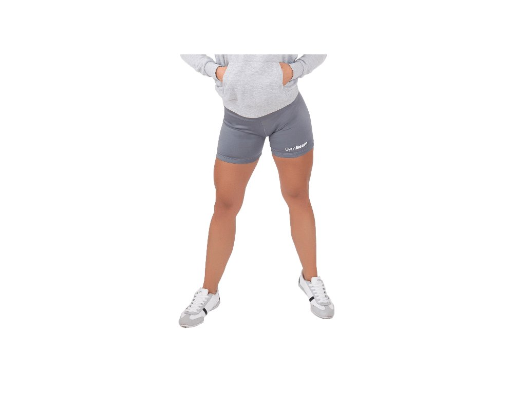 Dámské fitness šortky Fly-By Grey - GymBeam