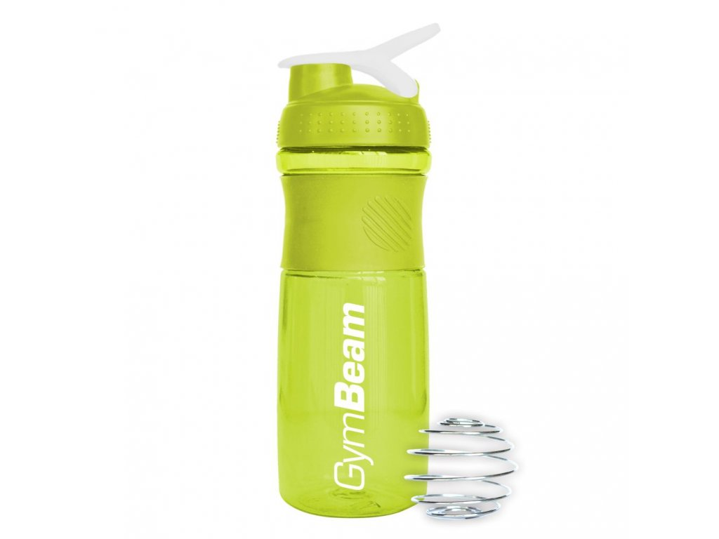 Šejkr Sportmixer Green White 760 ml - GymBeam