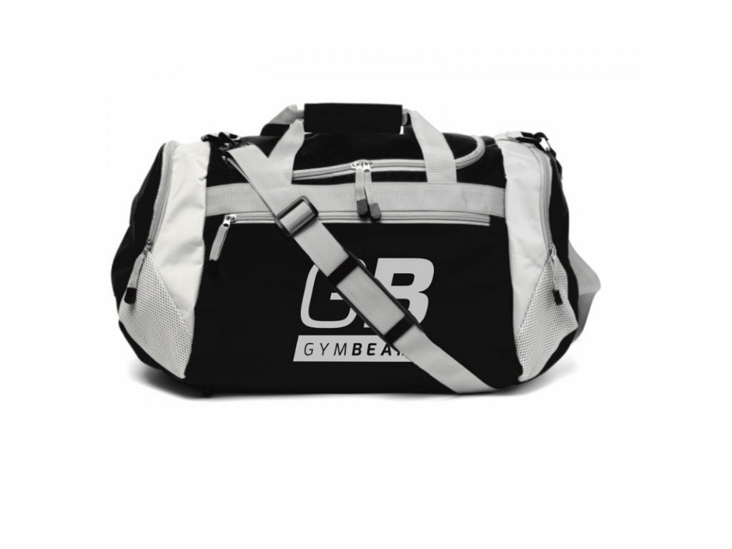 Sportovní taška Simple Black - GymBeam