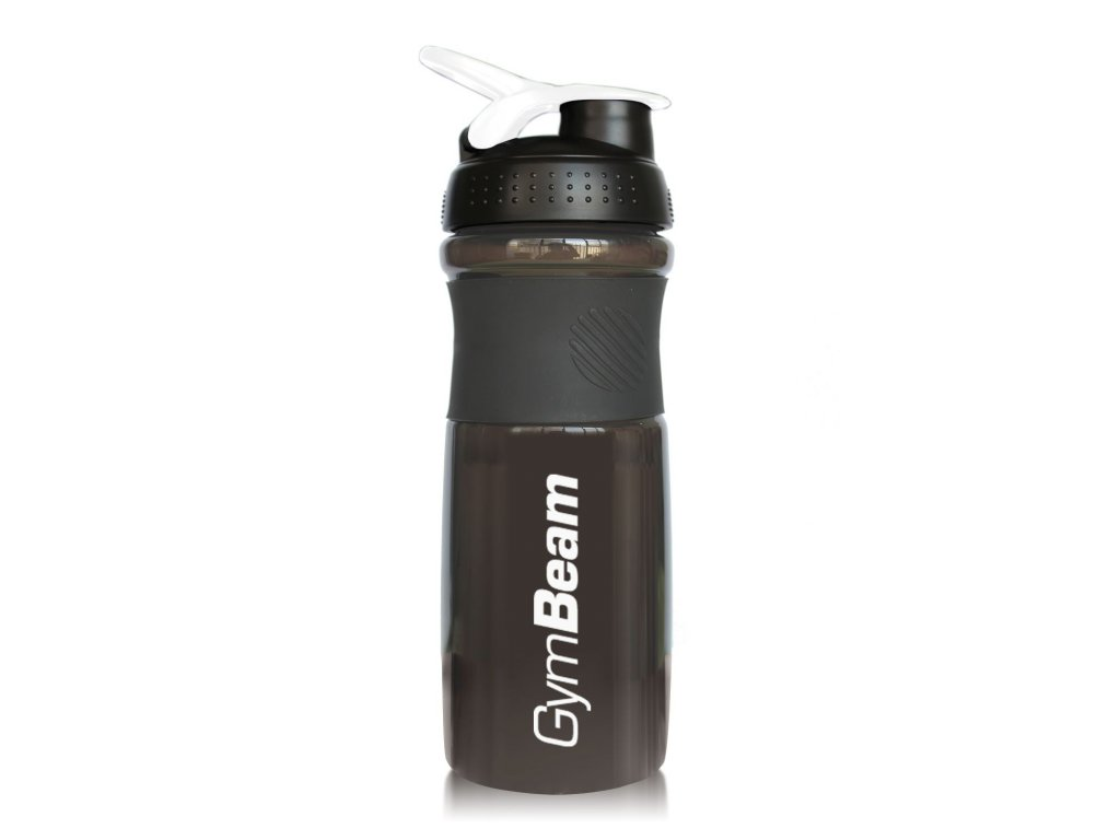 Šejkr Sportmixer Black White 760 ml - GymBeam