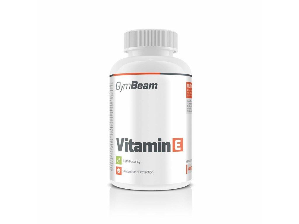 Vitamín E 60 kaps - GymBeam
