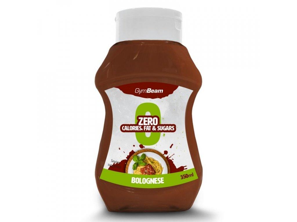 Bezkalorická omáčka Bolognese 350 ml - GymBeam