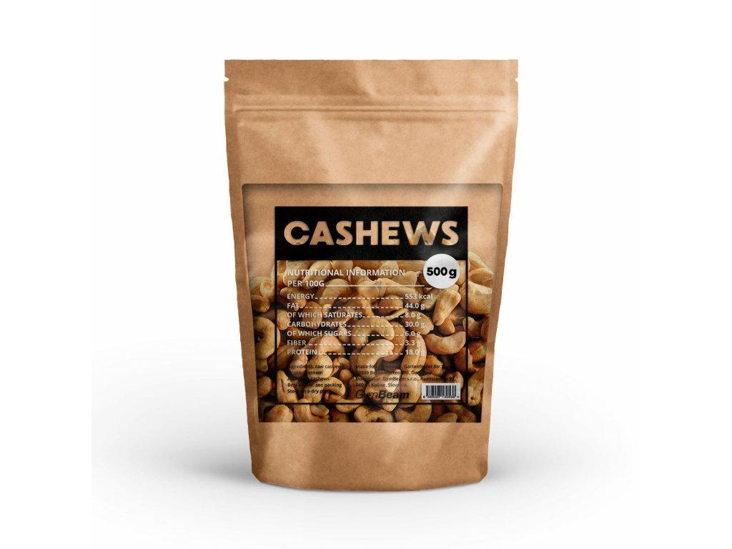 GymBeam Ořechy kešu 500 g