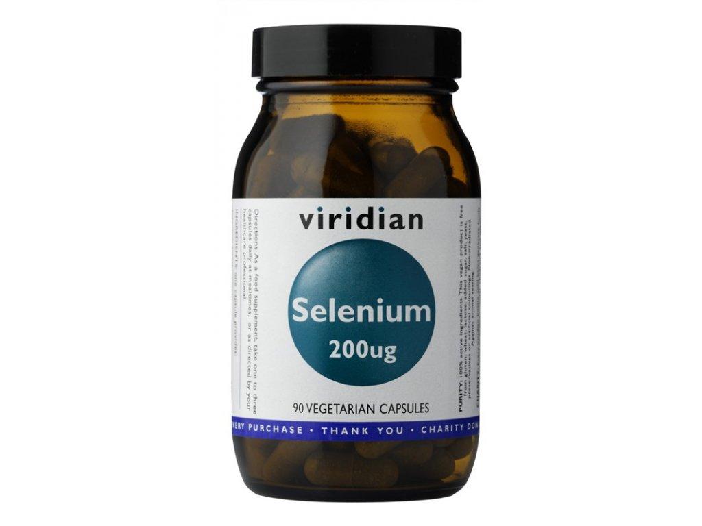 Selenium 200µg 90 kapslí