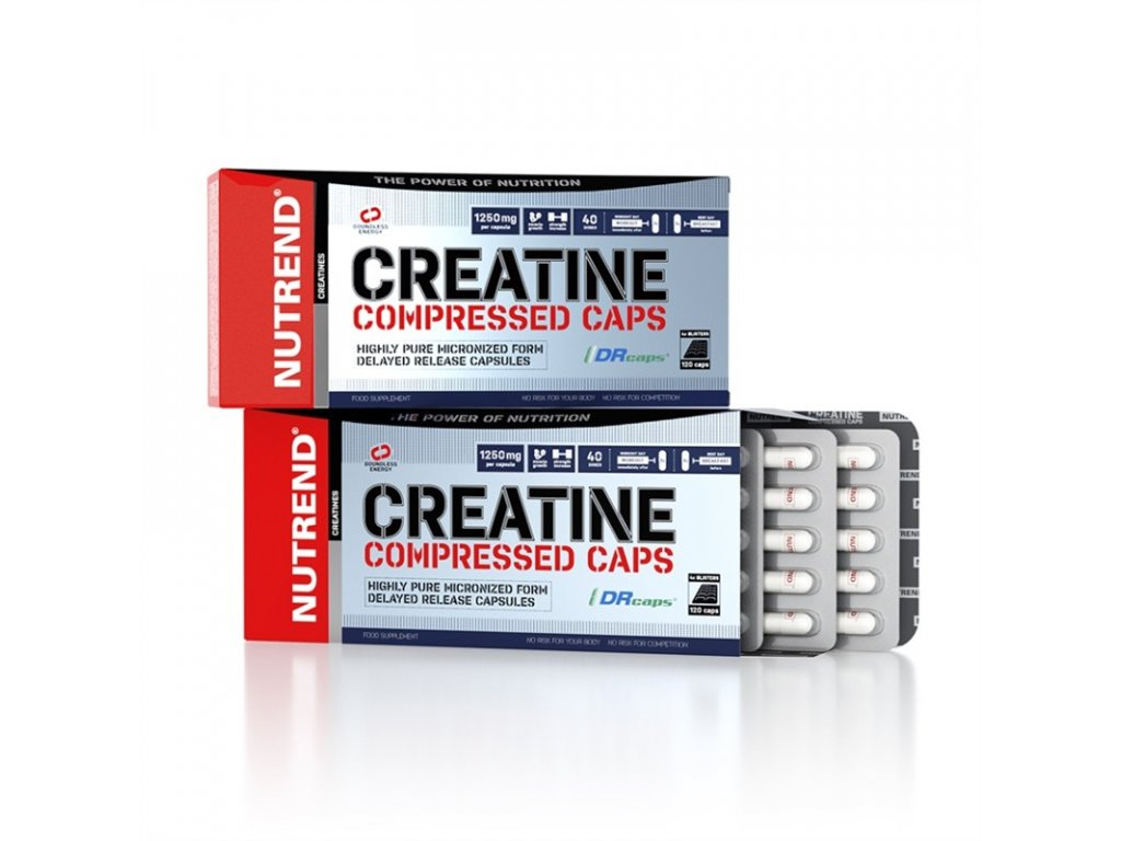 Creatine Compressed Caps 120 kapslí