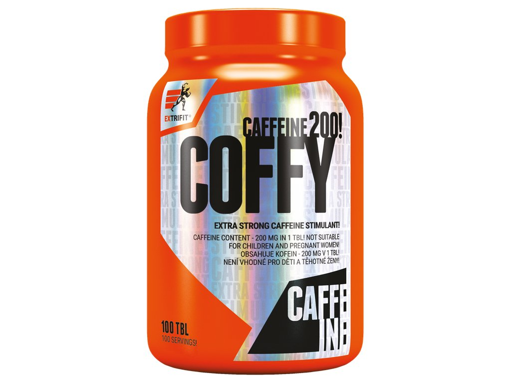 Extrifit Coffy Stimulant 200mg 100 tablet