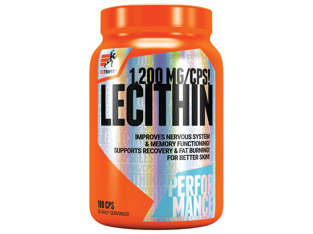 Extrifit Lecithin 100 kapslí