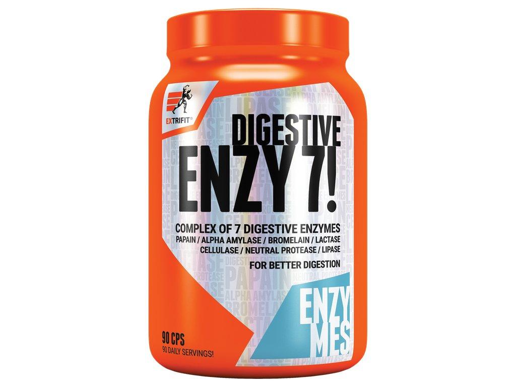 Extrifit Enzy 7! Digestive Enzymes 90 kapslí
