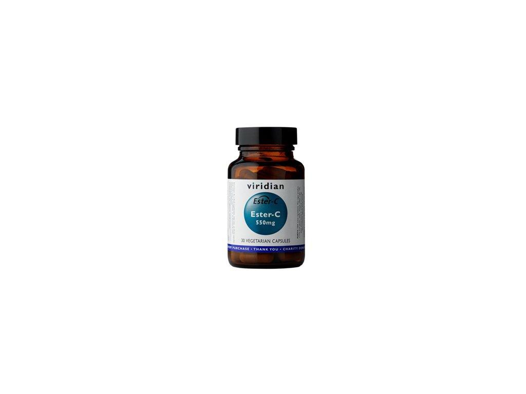 Viridian Ester-C 550mg 30 kapslí