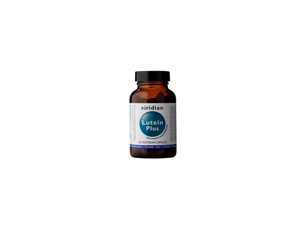 Viridian Lutein Plus (směs pro normální stav zraku) 60 kapslí