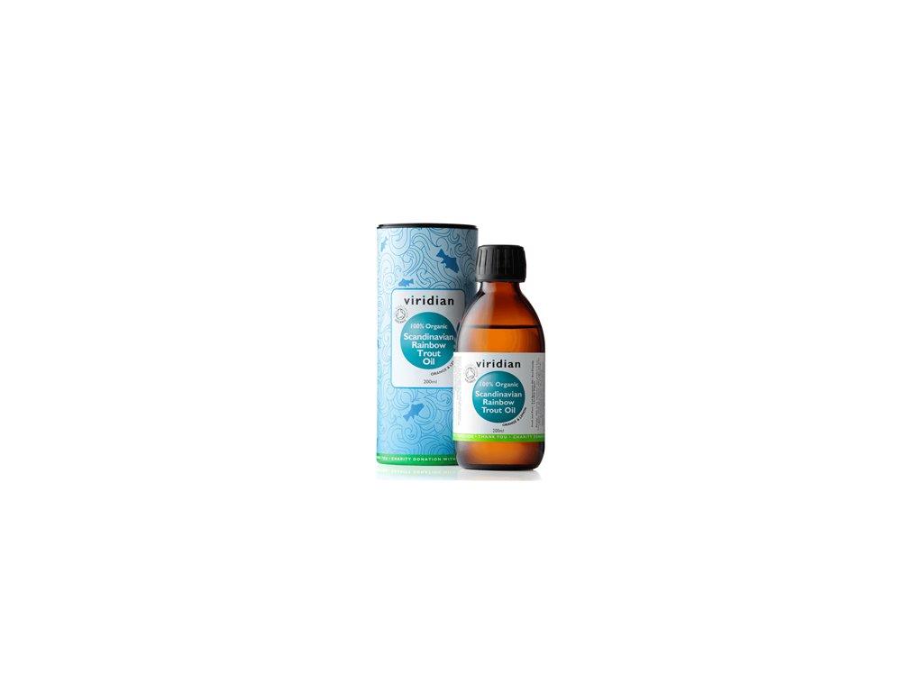 Viridian Scandinavian Rainbow Trout Oil 200 ml Organic (Rybí tuk)