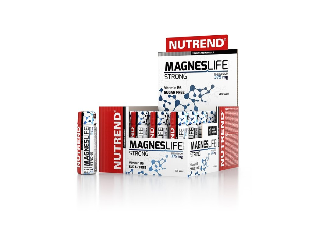 Nutrend MagnesLIFE Strong 20 x 60 ml