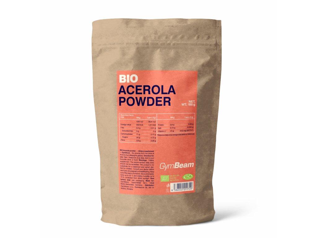 GymBeam Bio Acerola prášek 100 g