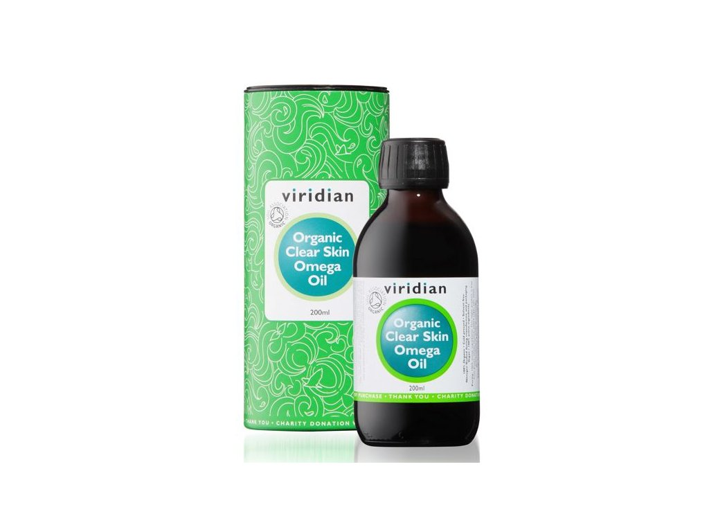 Viridian Clear Skin Omega Oil Organic 200 ml