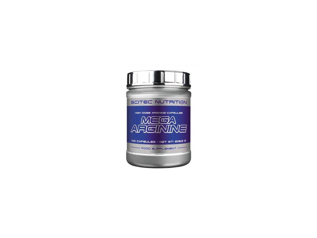 Scitec Nutrition Mega Arginine 140 kapslí