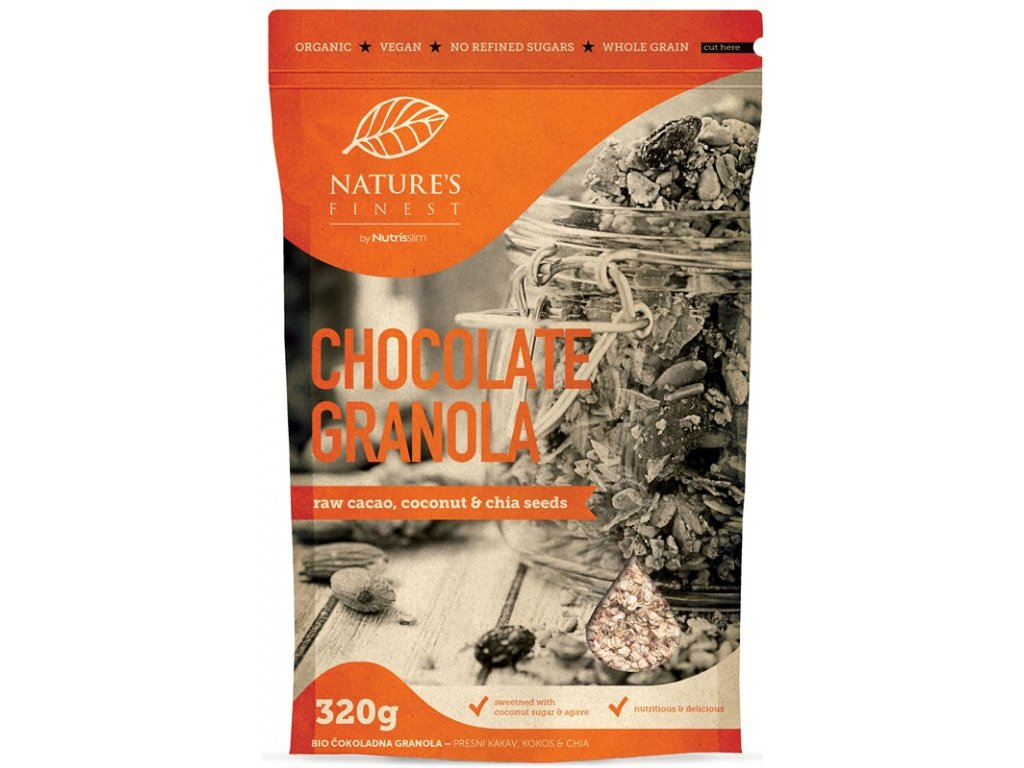 Chocolate Granola Bio 320g
