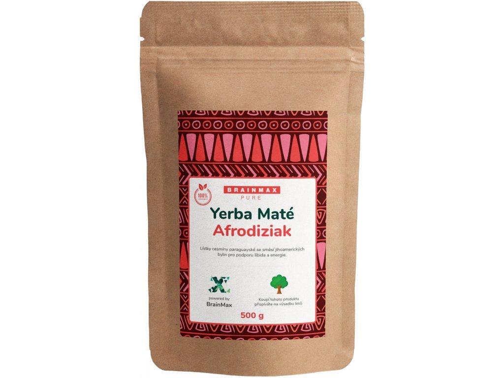 Votamax BrainMax Pure Organic Yerba Maté Afrodiziak 500 g