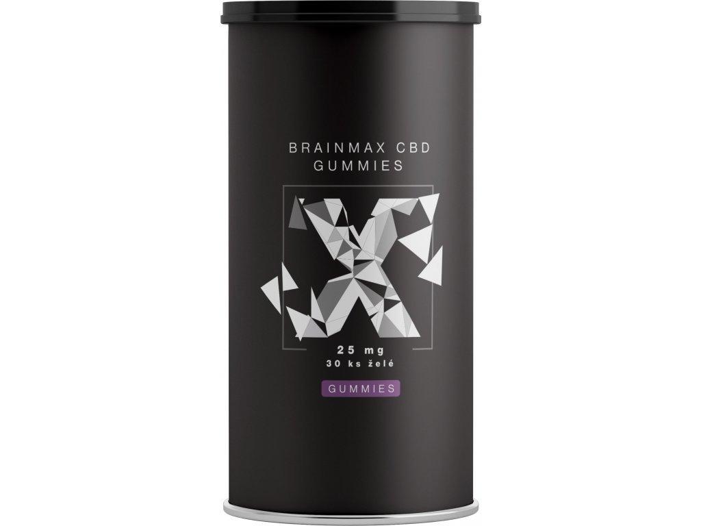 BrainMax CBD Gummies 25 mg, 30 želé bonbónů