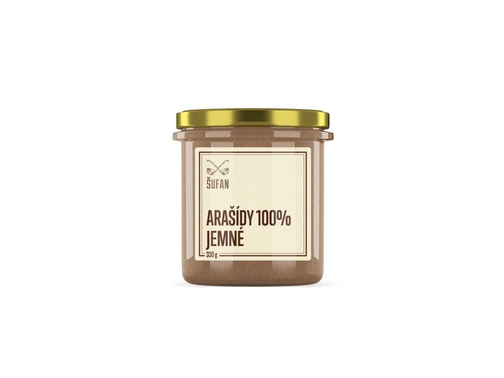 Šufan Arašídy pražené mělněné jemné Arašídový krém jemný 330 g