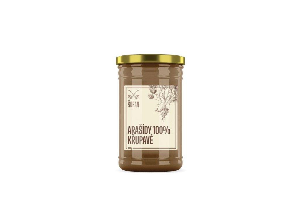Šufan Arašídy pražené mělněné křupavé Arašídový krém křupavý 1000 g