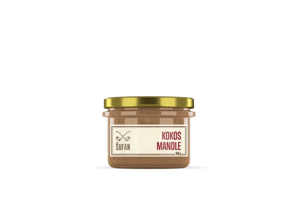 Šufan Kokos Mandle Kokosovo-mandlový krém 190 g