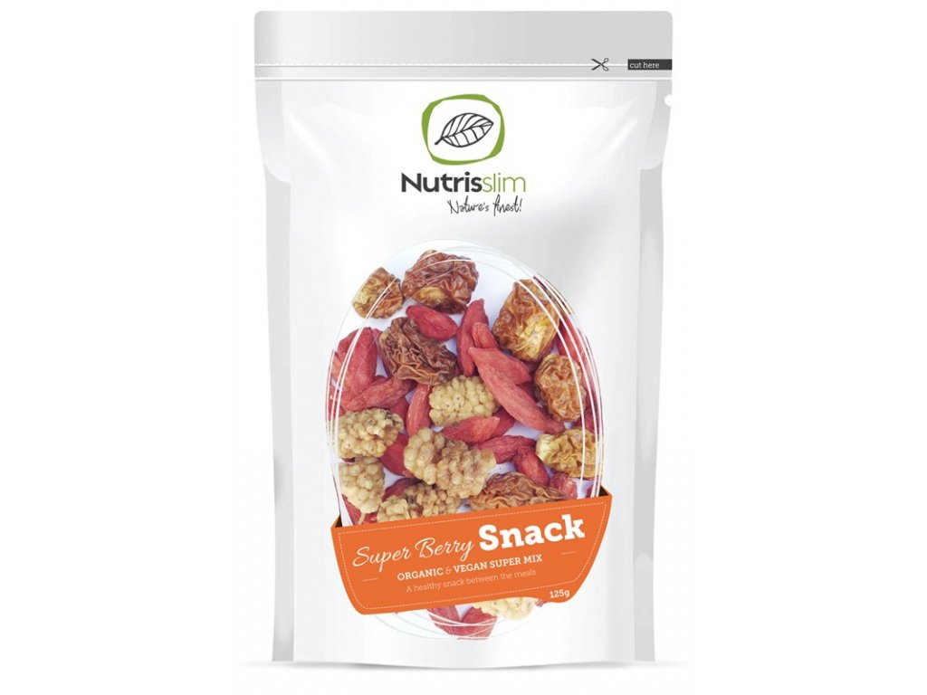 Super Berry Snack 125g Bio