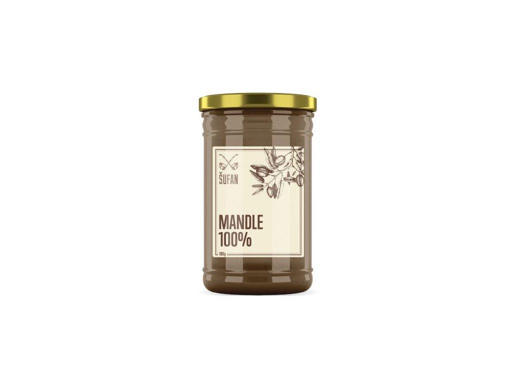 Šufan Mandle pražené mělněné Mandlový krém 1000 g