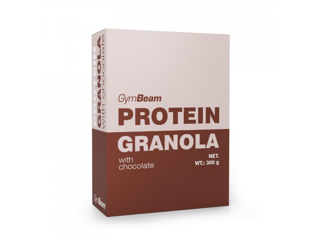 Proteinová granola s čokoládou - GymBeam