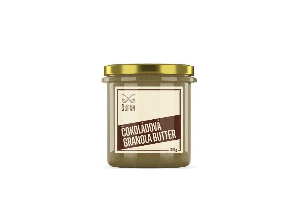 Šufan Granola Butter čokoládová 330 g