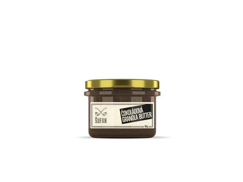 Šufan Granola Butter Čokoládová 190 g
