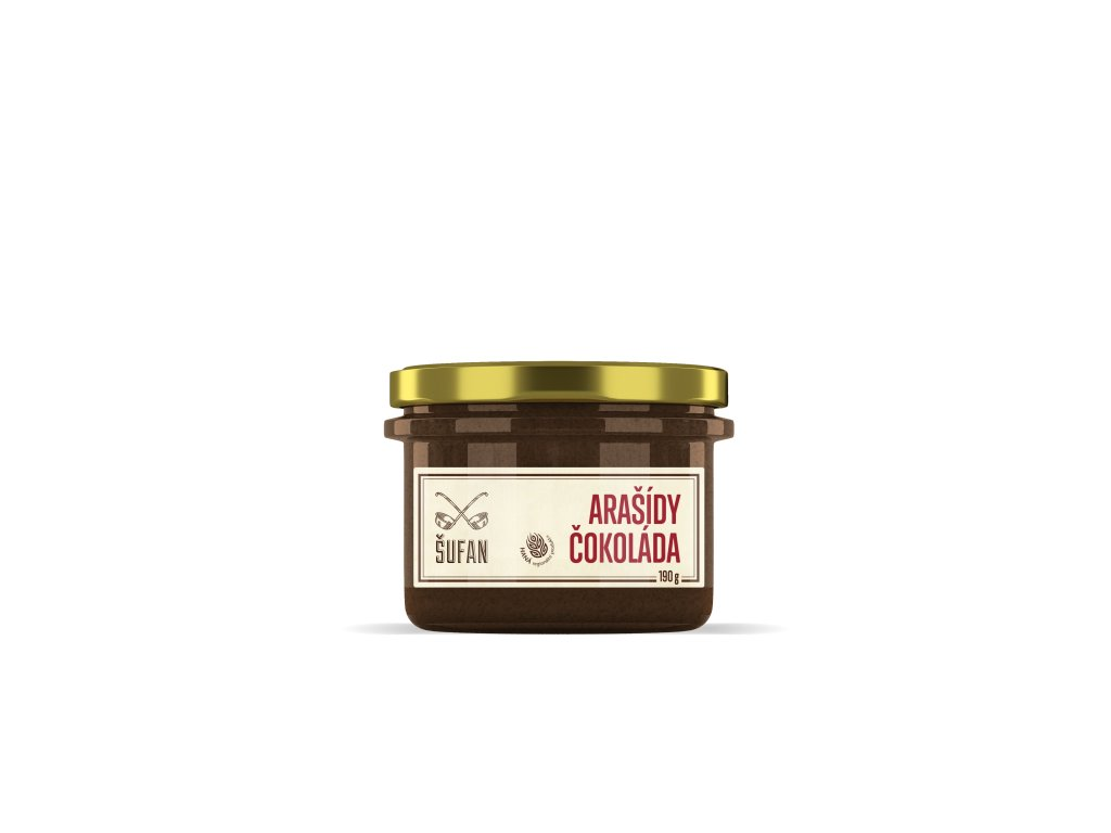 Šufan Arašídovo čokoládové máslo 190 g