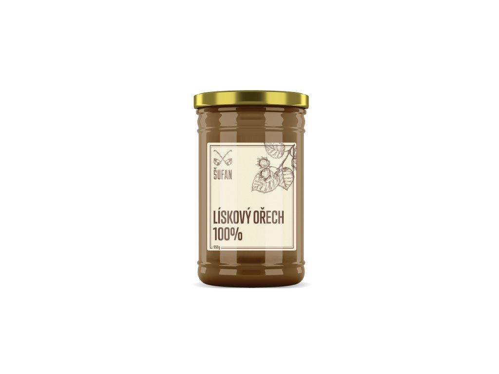 Šufan Lískoořechové máslo 950g