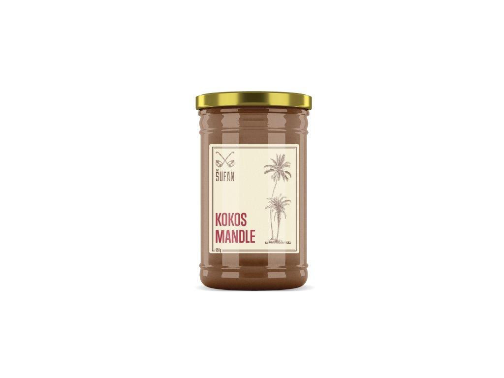 Šufan Kokos Mandle Kokosovo-mandlový krém 950 g