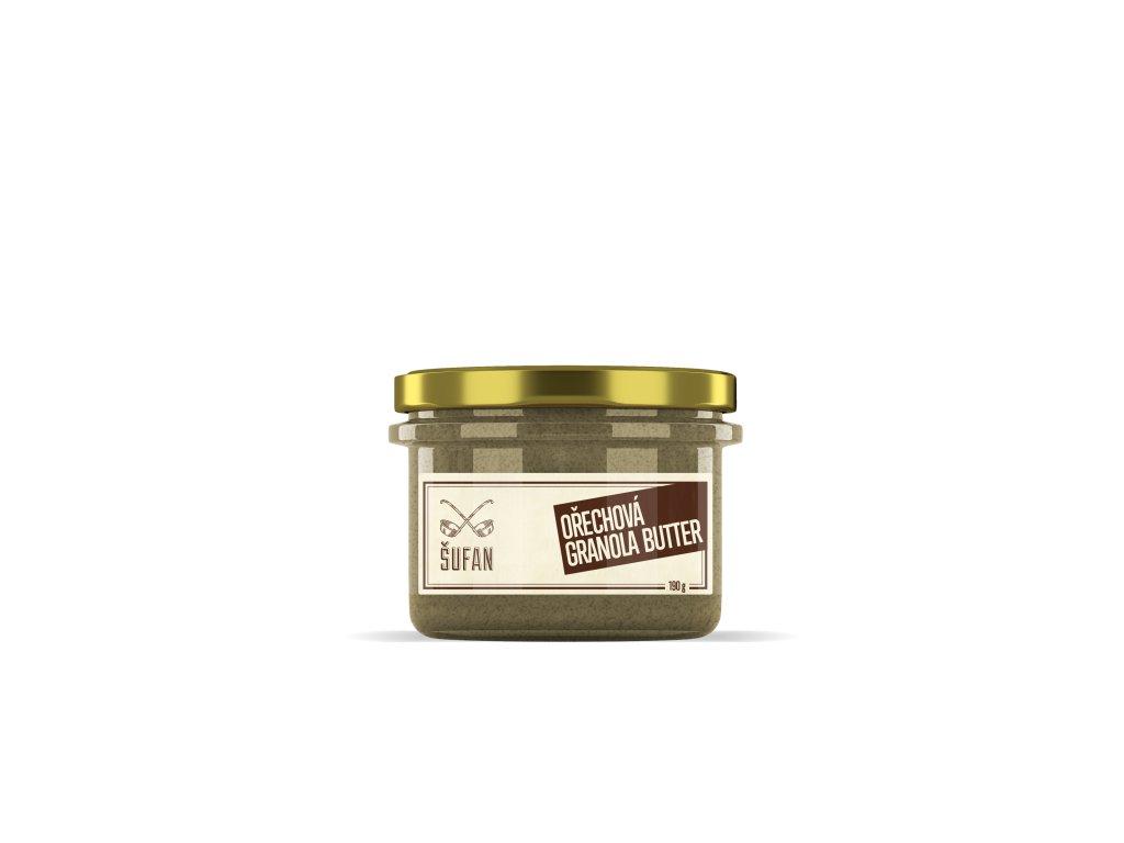 Šufan Granola Butter ořechová 190 g