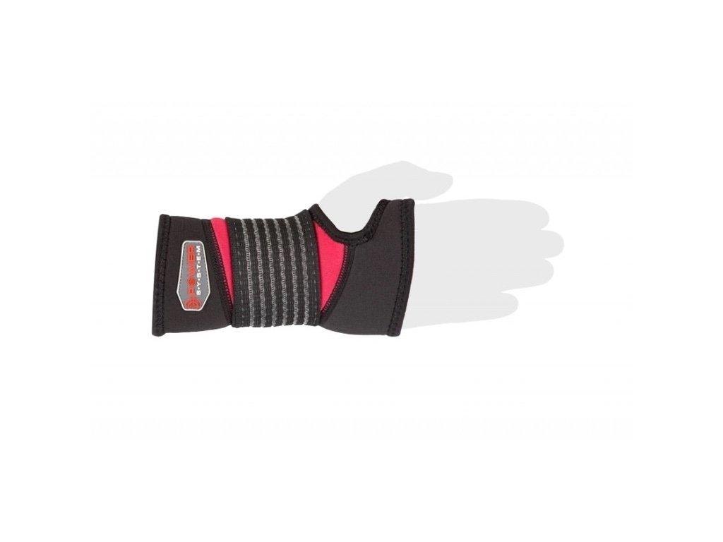 Bandáž na zápěstí Neo Wrist Support černo červený