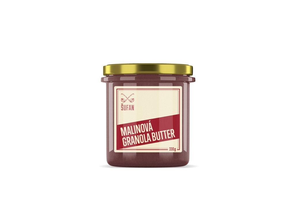 Šufan Granola Butter malinová 330 g