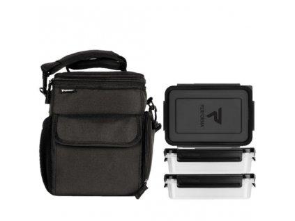 mpm002 pb 3 meal cooler bag black