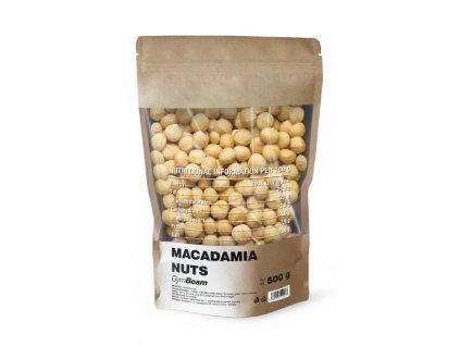 GymBeam Makadamové ořechy 500 g