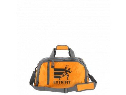 Extrifit sportovní taška 40 Šedo oranžová