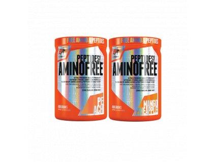 AKCE 1+1 Extrifit Aminofree Peptides 400 g + Aminofree Peptides 400 g